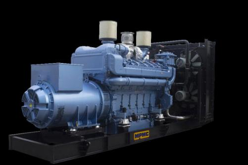 Baudouin Open Diesel Generator Made By MPMC