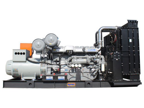 651~3000kVA Open Generator Set Made By MPMC