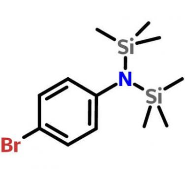 4-Bromo-N,N-bis(trimethylsilyl)aniline,[5089-33-8],C12H22BrNSi2,N-(4-Bromophenyl)-1,1,1-trimethyl-N-(trimethylsilyl)silanamine; p-Bromo-N,N-bis(trimethylsilyl)aniline