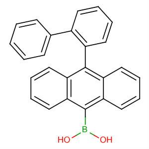 (10-[1,1'-Biphenyl]-2-yl-9-anthracenyl)boronic acid,400607-48-9​,C26H19BO2​