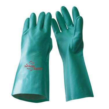 Unlined Nitrile Full Coated With Diamond Palm Gloves US11205UL