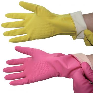 Colorful Latex Chemical Resistant Gloves US01202