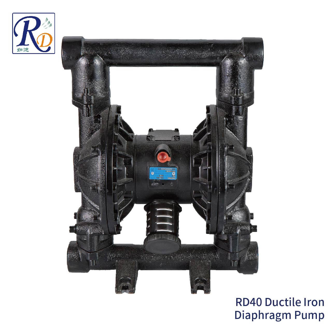 RD40 Ductile Iron Diaphragm Pump