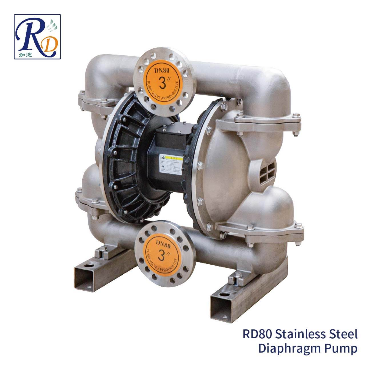 RD80 Stainless Steel Diaphragm Pump