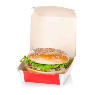 CMYK Offset Printing Hamburger Box
