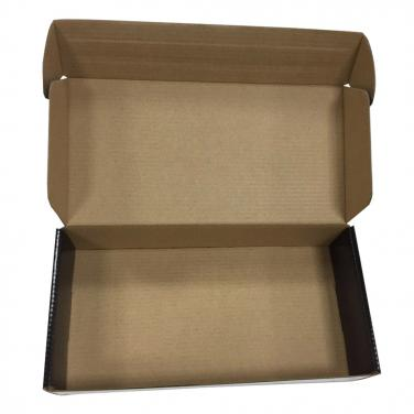 Corrugated black printing notebook box for shipping