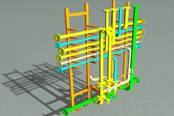 Modular Design of Piping System in Fructose Factory