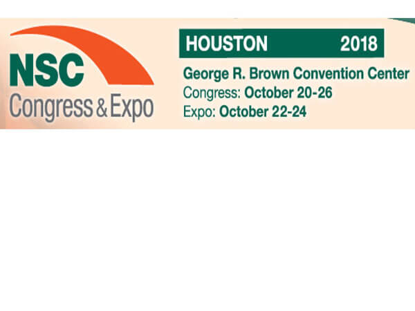 2018 Houston NSC Congress & Expo on 20th-26th,OCT