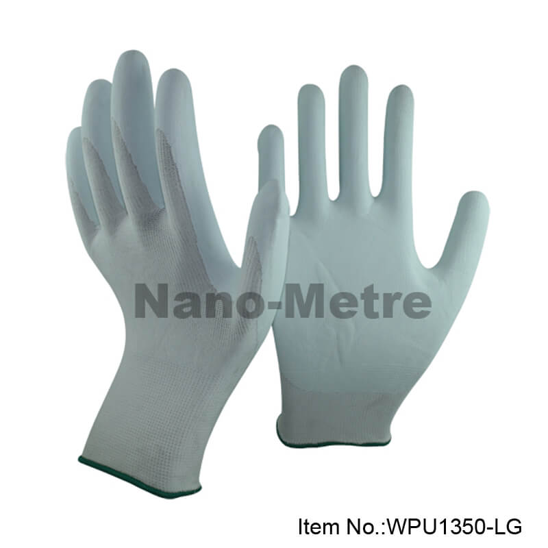 Cool Water-based PU Coated Work Glove - WPU1350-LG
