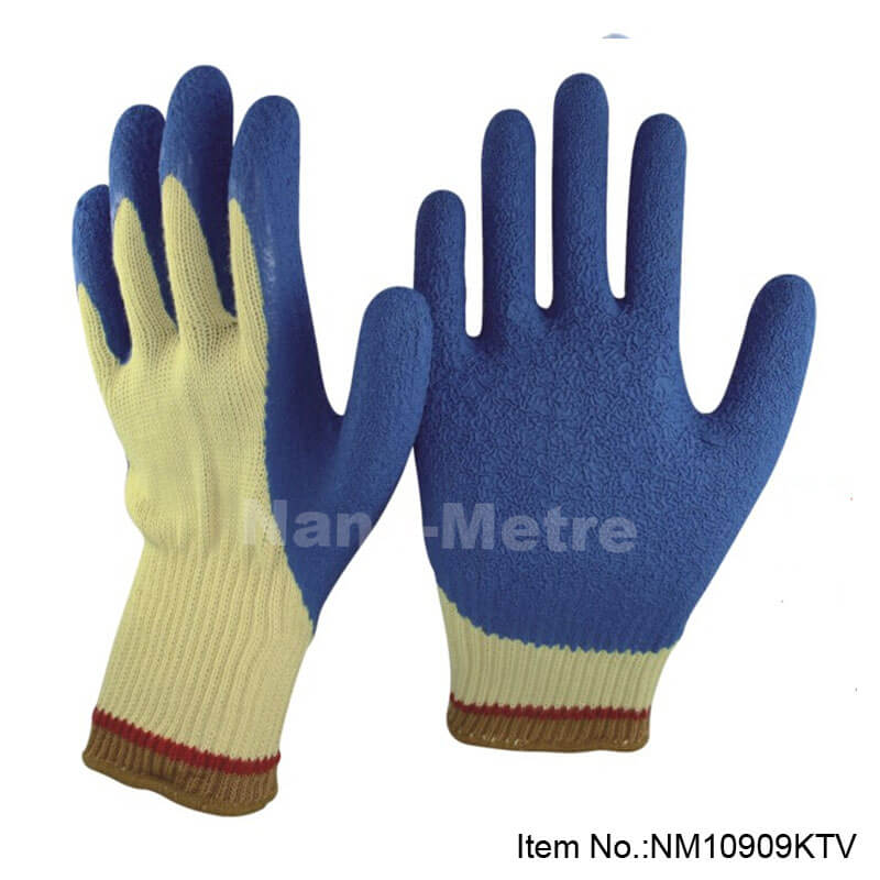 Yellow AramidFibers Latex Work Glove - NM10909TKV