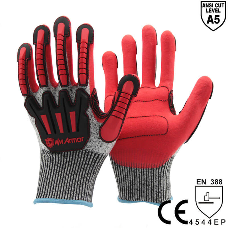ANSI CUT 5 Anti-Impact and Cut  Resistant Work Glove -DY1350AC-R