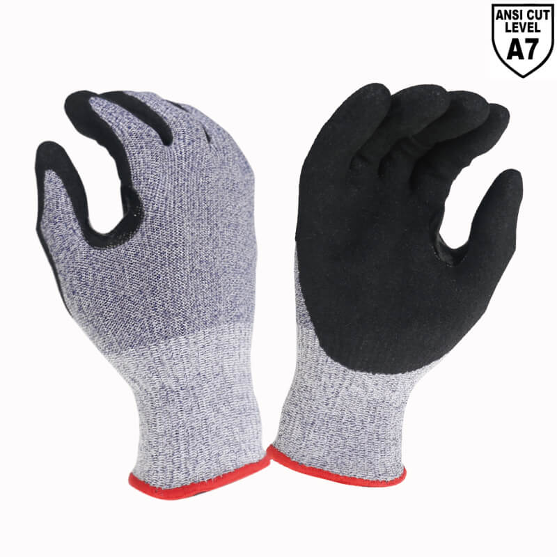 ANSI CUT A7 Reinforcement Between Thumb and Index Finger Work Gloves - DY1350A7