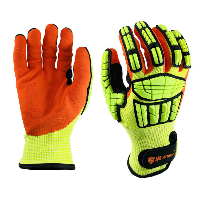ANSI CUT 5 Anti-Impact Protective Safety Work Glove-  DY1350AC-HY/OR