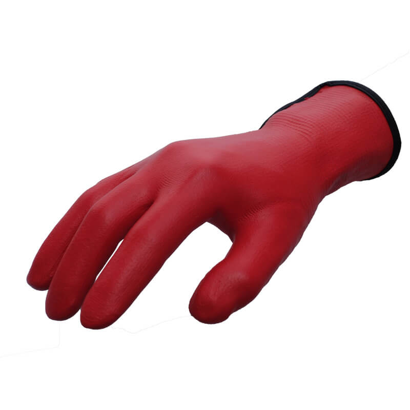 Nylon&Spandex Knitted Liner Full Coated Wet-Out™ tech Foam Nitrile Glove - NY1359FRB