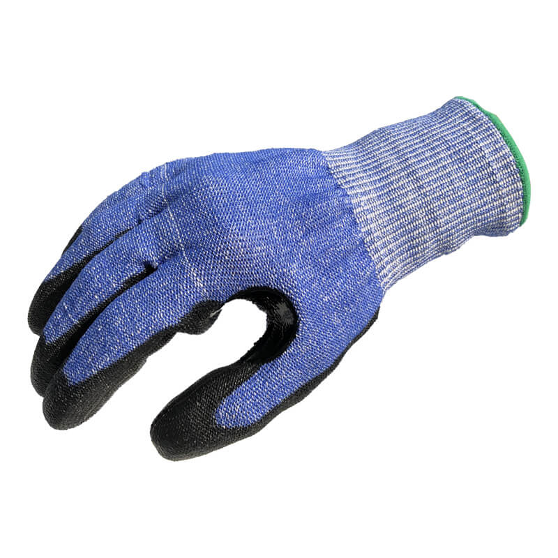 13 Gauge DO-TEX™ Cut Liner Knitted Coated Black PU on Palm Gloves - DY1350PU-H9