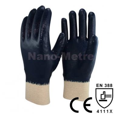 Full Coated Nitrile Industrial Safety Hand Glove - NBR1530-B