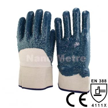 Heavy Duty Work Glove With Jersey Liner 3/4 Coated Nitrile -NBR4230-B