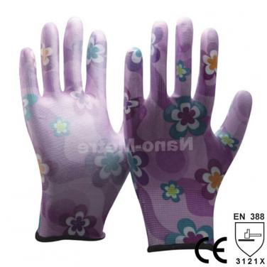 Household Ladies Gardening Work Glove - PU1350FL