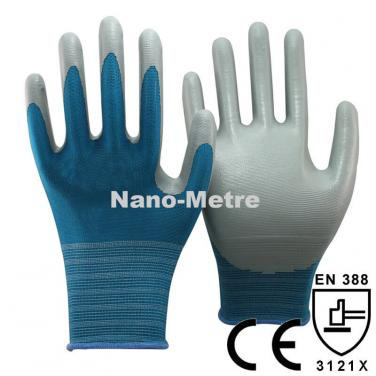 Coloful Liner With Nitrile Work Glove- NY1350-LB/GR
