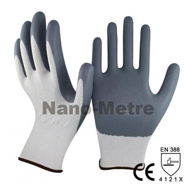Foam Nitrile Dipped Palm Protective Glove - NY1350F-GR