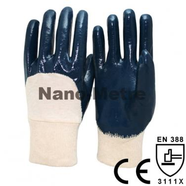 Light Duty Work Glove With Interlock Liner 3/4 Coated Nitrile - NBR1260-B
