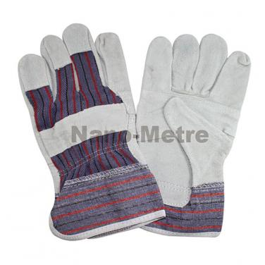 Cheapest Natural cow split leather work glove - CS14703
