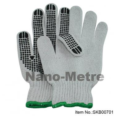 Dotted Work Cotton Glove - SKB00701