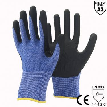 ANSI CUT 3 Ultra Light Shell Cut 3 Crotch Protect Glove -DY1850F-H
