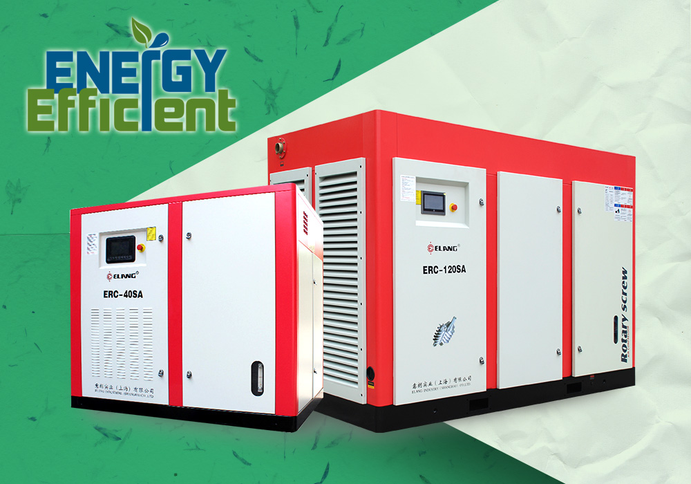 Why does Two-stage Screw Air Compressor Energy Saving?