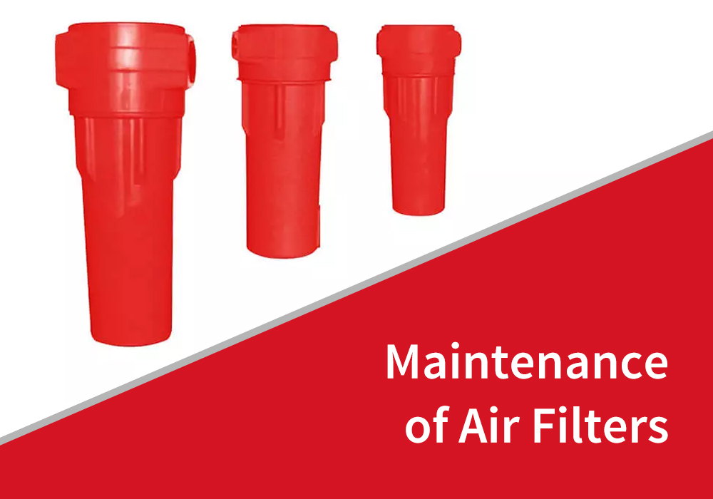 Maintenance of Air Filters