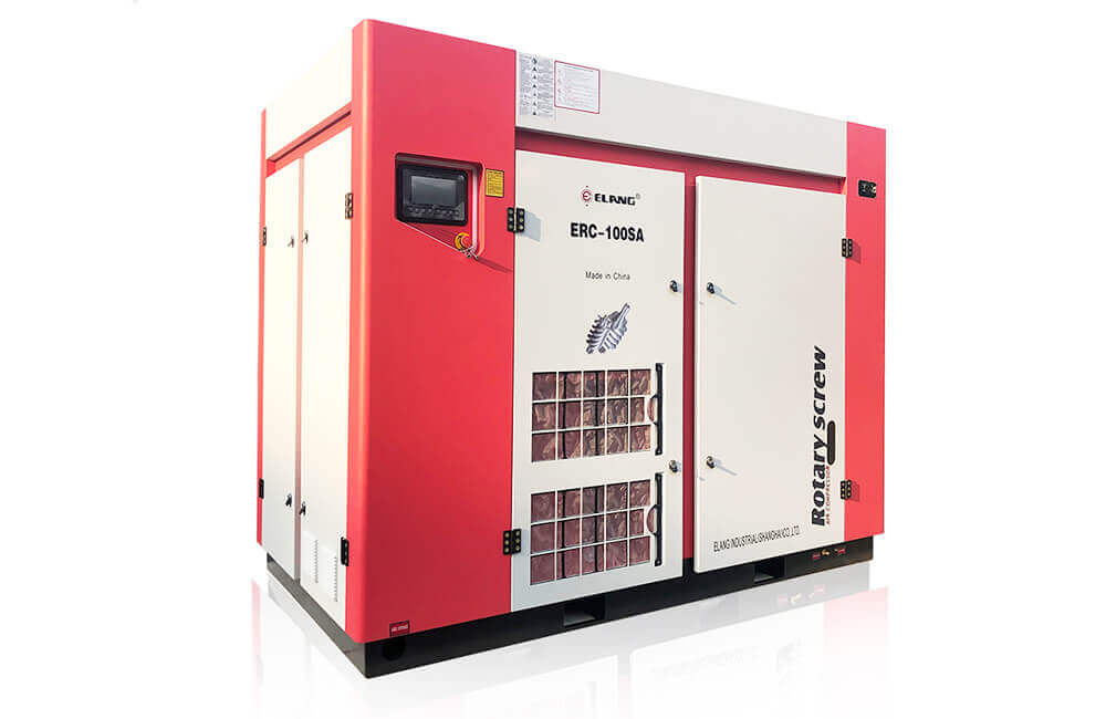 New Design Two-Stage Screw Air Compressor