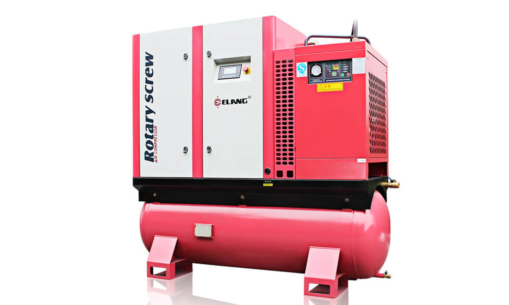25HP 18.5Kw Combined Screw Air Compressor