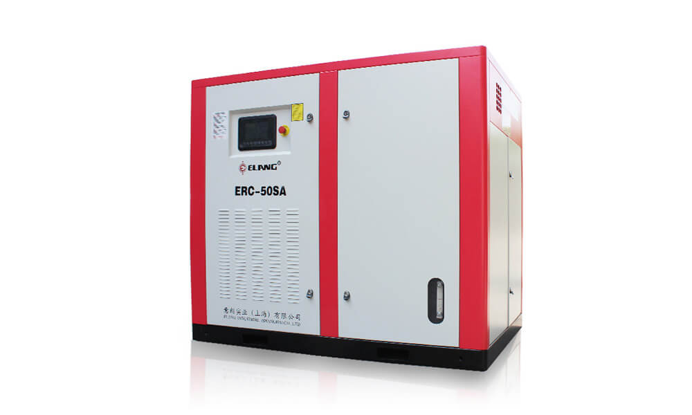 50HP 37Kw Energy Saving Two Stage Screw Air Compressor