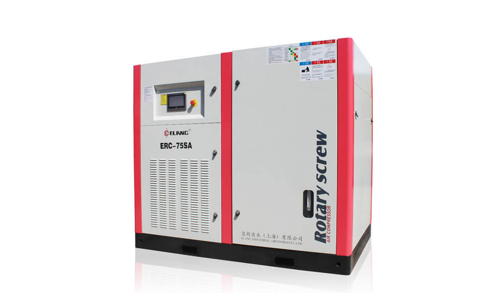 75HP 55Kw Direct Driven Screw Air Compressor