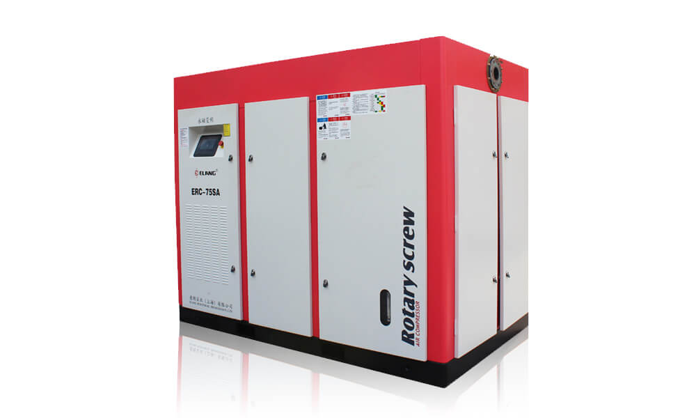 75HP 55Kw VSD Permanent Magnet Screw Air Compressor