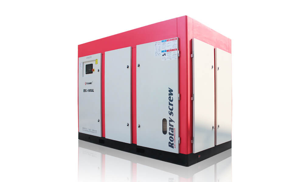 150HP 110Kw Energy Saving Two Stage Screw Air Compressor