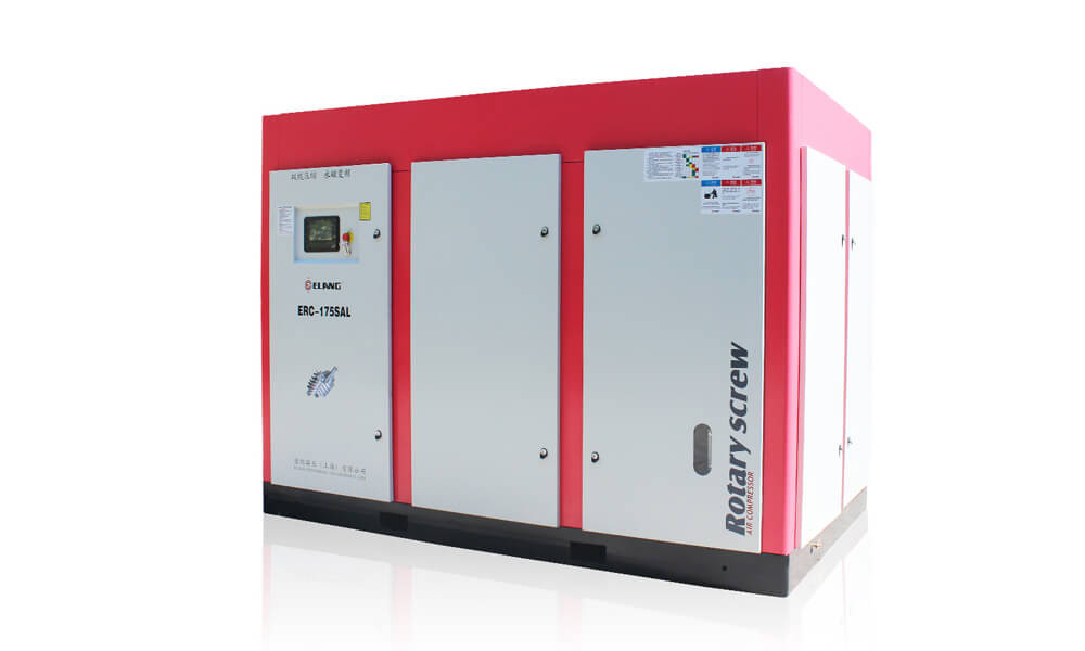 175HP 132Kw Energy Saving Two Stage Screw Air Compressor