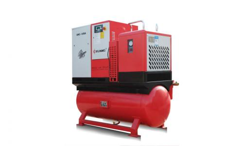 10HP 7.5Kw Combined Screw Air Compressor