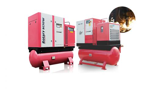 Belt Drive Combined Air Compressor for Laser Cutting Machine