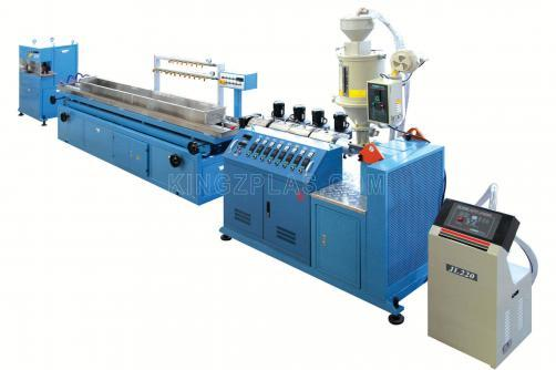 PP Small Profile Extrusion Line