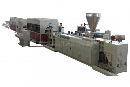 Faux Stone Siding Extrusion Line