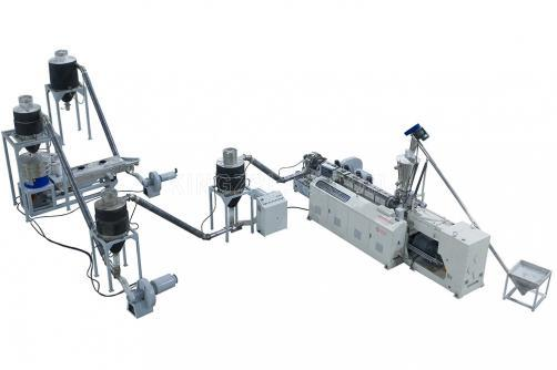 Parallel Twin Screw Extruder Pelletizer