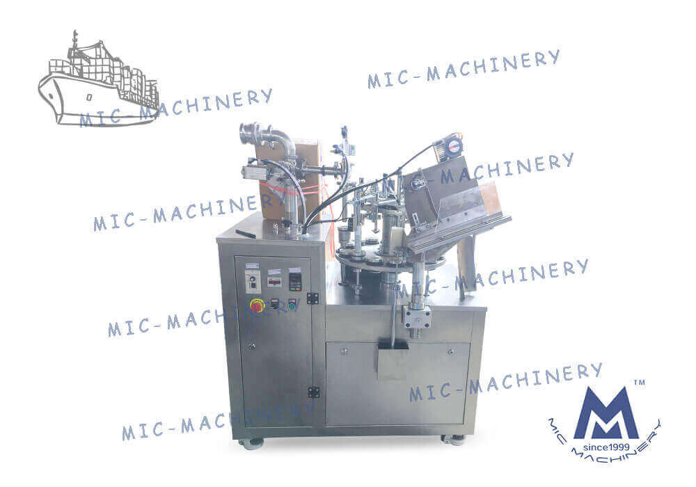 L45 silicone filling machine sent to Argentina
