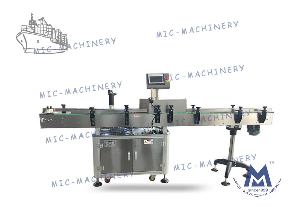 Labelling machines for export to Argentina