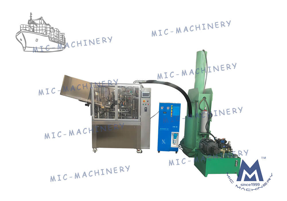 L60 aluminum tube filling machine to venezuela