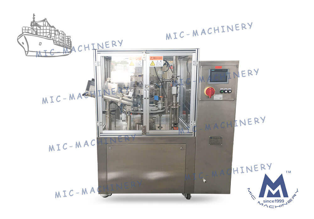 Fully automatic aluminum tube sealing machine sent to China's shandong province
