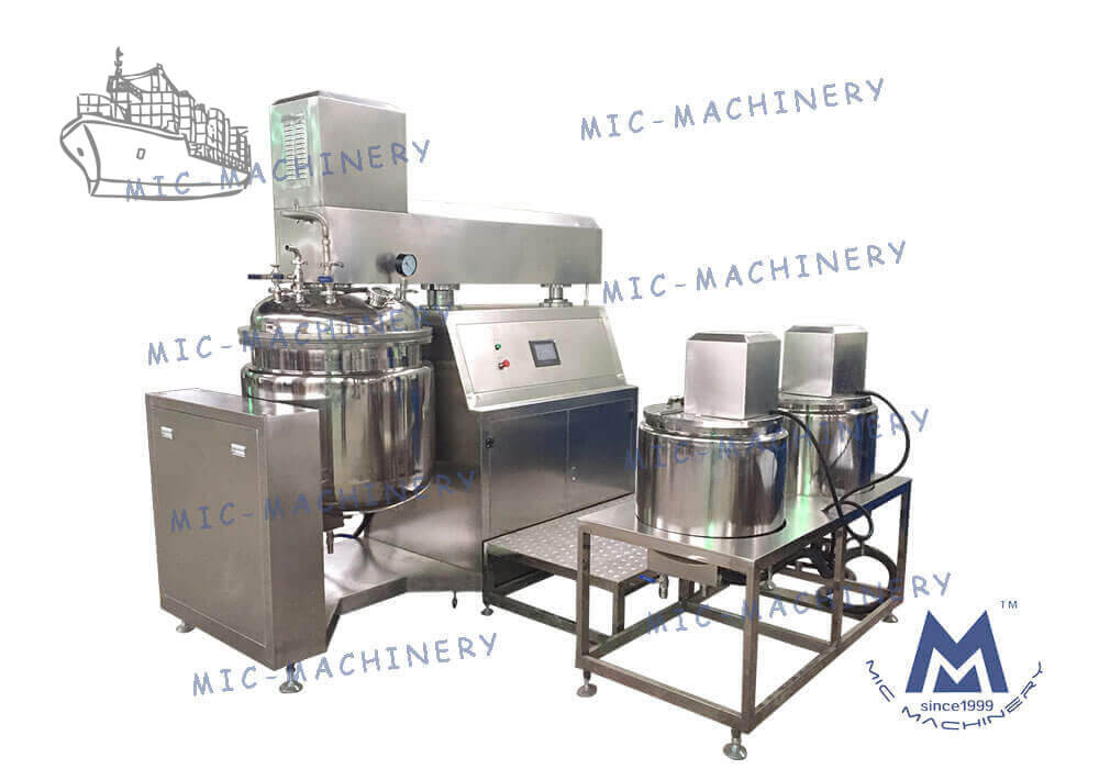 Emulsifying mixer exported to Singapore