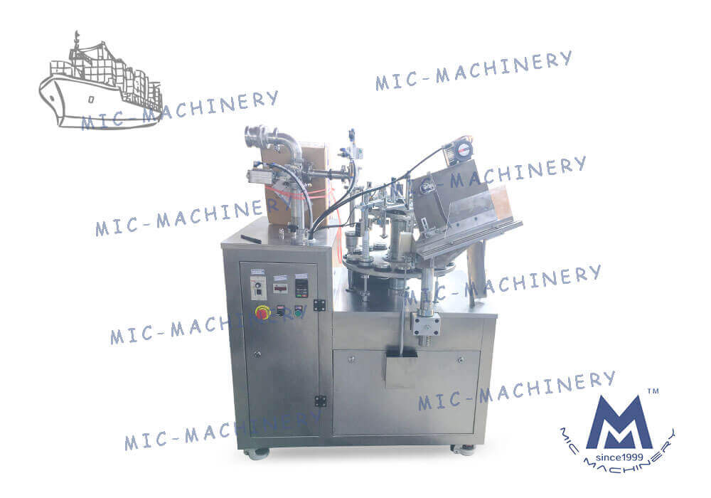 MIC-L45 Aluminum tube filling machine exported to Malaysia