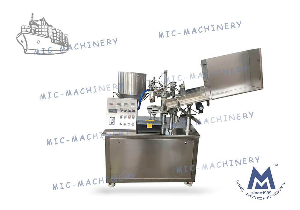 L45 filling machine to Brazil