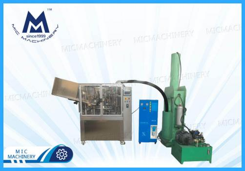 Automatic Tube Filling  Machine with Material Pressing Machine ( Pharmacy, Cosmetic, Food and Chemical etc. )